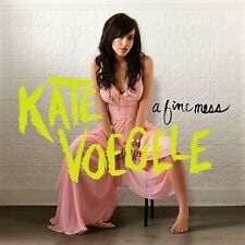 KATE VOEGELE A Fine Mess (CD, 2009, Interscope) FACTORY SEALED