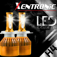 Philips H4 9003 HB2 252W 25200LM Hi Low Beam LED Headlight Kit Bulbs 6000K White