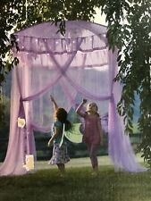 Hearth Song LED Sparkling Lights Canopy Bower Bedroom Playroom Pink NEW
