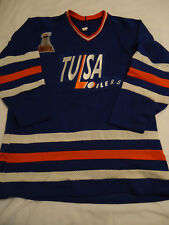 Tulsa Oilers 1994 CHL Hockey Jersey with 1993 Bill Levins patch