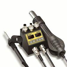 2 In 1 Soldering Station Lcd Digital Display Bga Rework Hot Air Blower Heat Gun