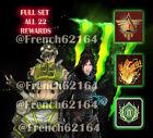 Apex Legends Monster Energy FULL GAME SET (ALL 22 Items) VERY RARE