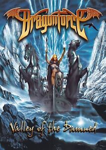 DRAGONFORCE Valley of the Damned FLAG CLOTH POSTER WALL TAPESTRY BANNER CD Power