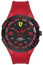 Scuderia Ferrari | Men's Apex | Red Rubber Strap | 0830664 Watch