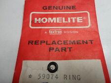 3 HOMELITE Chainsaw MANUAL OILER SHAFT O RINGS 59074    1130G   2100