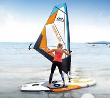 Inflatable SUP Stand Up Sailboat Windsurfing Paddle Board Surf Board NEW