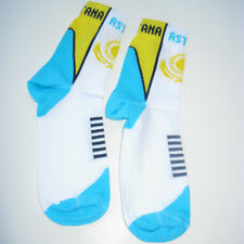 ASTANA Pro Cycling Team 2008 official team socks L 42-46 ~ NEW ~ made in Italia