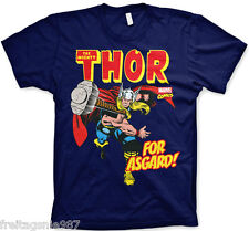 MARVEL THOR ASGARD  T-Shirt  camiseta cotton officially licensed
