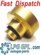 LPG GPL filling point adapter UK to France.  Autogas Propane LPG Adaptor