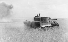 WWII Photo German Tiger I Eastern Front 233  WW2 / 4033