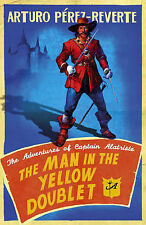 The Man In The Yellow Doublet, Arturo Perez-Reverte, Book, New