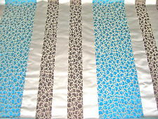 Designers Guild Fabric Svoboda Turquoise Silk