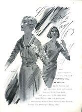 1961 Lord & Taylor PRINT AD Fashion Ballantynes Cashmeres