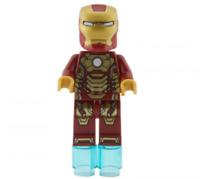 Lego Iron Man Mark 42 Armor 76007 (Plain White Head) Super Heroes Minifigure