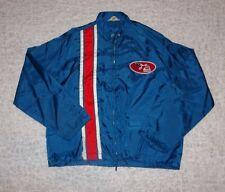 Vintage Marathon Racing Satin Jacket Windbreaker Size Small