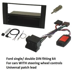 Ford Transit Connect MK1 2002 to 2013 Complete Fitting Kit Single & Double DIN
