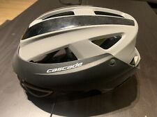 New listing Cascade LX Women's Lacrosse Headgear Helmet, Black/Gray