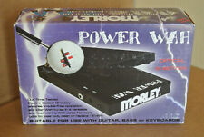 MORLEY POWER WAH with ELECTRO-OPTICAL CIRCUITRY with ORIGINAL BOX! LOT #Z214