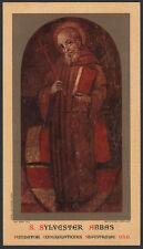 "santino-holy card""S.SILVESTRO GOZZOLINI"