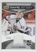 (71979) 2012-13 UPPER DECK JONATHAN BERNIER GAME JERSEY #GJ-JB