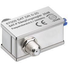 Atenuador variable 0-20 DB 0-2400 MHz para sat o Cable señal