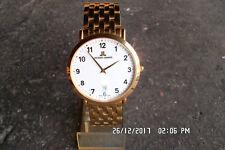 alte Uhr Vintage Uhr Jaques Lemans 'Classic' JL 894 Stahl Saphireglas Bauhaus