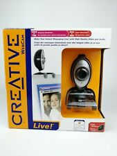Creative Labs Webcam Live Yahoo Messenger USB Wired Webcam Built In Microphone