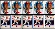 (10) JOHNNY BENCH STICKERS-1983 TOPPS # 7 & # 229-HOF CINCINNATI REDS CATCHER