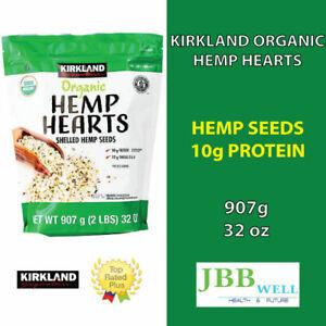 Kirkland Signature Organic Hemp Hearts, 32 oz, Exp.10/22