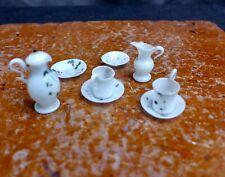 Nice Antique miniature children toy glass jug etc Dutch 18th. century