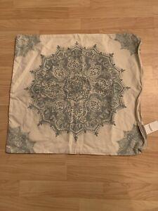 "Pottery barn mandala design pillow case 24 x 24"""