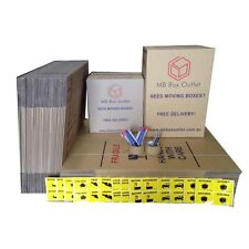 30X50L +20X100L Cardboard PackingBoxes Removal Moving Storage Heavy Duty Carton