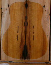 curly persimmon wood tonewood guitar luthier set back and sides ebony family