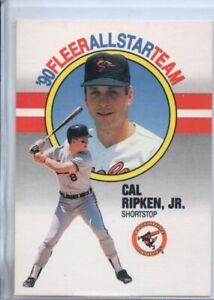 1990 FLEER CAL RIPKEN JR. ALL STAR TEAM