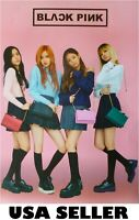 Blackpink all standing POSTER 14.5 x 21 Korean Girl group Kpop Black Pink