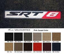 Lloyd Mats Dodge Charger SRT8 Emblem Velourtex Front Floor Mats (2006-2018)