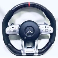 2019 MERCEDES AMG C63 E63 GT S63 CLS63 G63 CARBON FIBER PIANO STEERING WHEEL