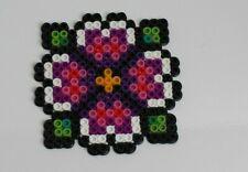 Perler beads Pixel art flower