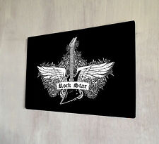 ROCK Star Gotico Heavy Metal Sign A4 PLACCA IN METALLO
