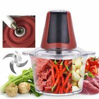 Electric Meat Grinder Kitchen Mincer Chopper Blender Vegetable Dicer Cutter NEW