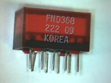 ►7-Segment LED Display ±1 ROT 9mm gem. Kathode Fairchild FND368