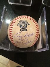 ANDY PETTITTE SIGNED INSCRIBED 9/28/13 FINAL COMPLETE GAME BALL-STEINER/MLB-1/1