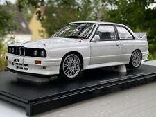 "AUTOart 1:18 BMW M3 Plain Body  ""e30 Special Week""  by RACEFACE-MODELCARS"