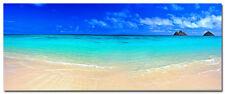 "Tropical Sea Beach Scenery Silk Poster 24x60"" Modern Home Decor  Blue Sky 04"