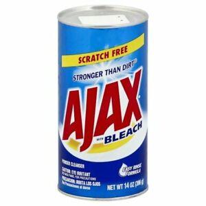 Ajax With Bleach Powder Cleanser