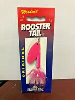 Worden/'s Rooster Tail 212 1//4 oz Ort
