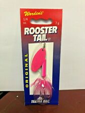 Rooster Tail, RT.212.ELEC.B6, 1/4 OZ., 7 gm, WORDEN'S, ELECTRIC CHICKEN SIZE 1/4