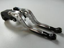 Honda CB 1000 R 08-16 Brake Clutch Lever Lever Set Silver