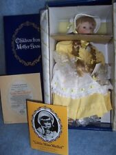 1989 Knowles- Little Miss Muffet Porcelain by Yolanda Bello