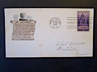 United States SC# 902 FDC / Lincoln Cachet - Z5238